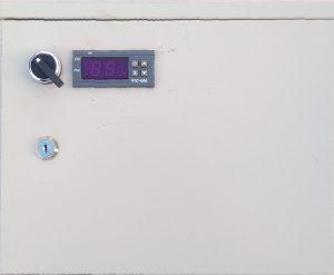 Блок управления одной горячей плитой