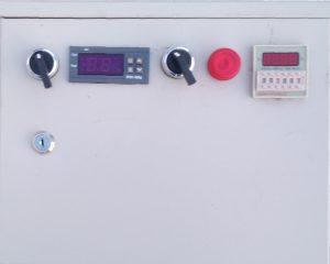 Блок управления одним горячим щитом с таймером