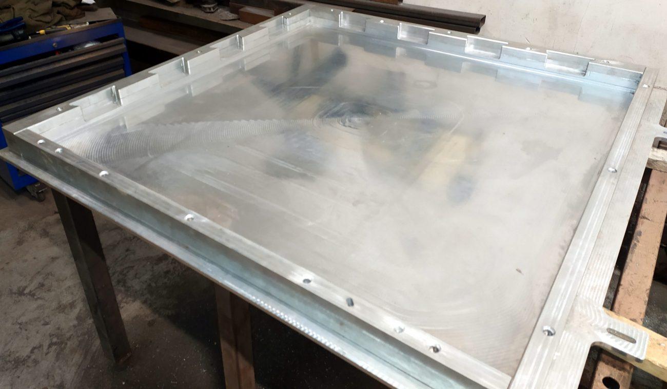 Матрица скрытый пазл для резиновой плитки
