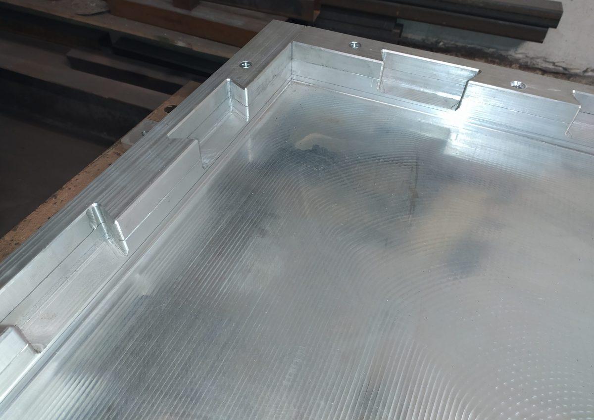 Матрица скрытый пазл для производства резиновой плитки