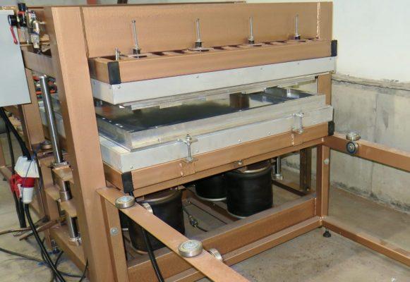 Термо пресс для резиновой плитки
