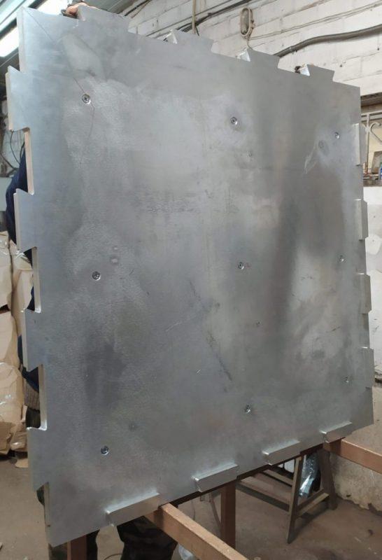 Пуансон скрытый пазл для производства резиновой плитки